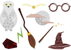 Vetores livres de Hogwarts