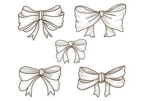 arcos desenhados à mão vetor