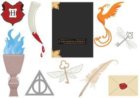 Free Hogwarts 2 Vetores
