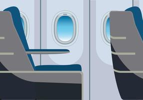 Ilustração da janela de avião grátis vetor