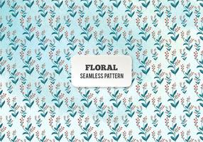 Teste padrão floral livre da aguarela do vetor