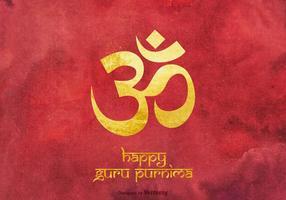 Livre feliz guru purnima vetor de fundo