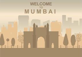 Ilustração grátis de Mumbai