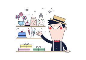 Vetor livre de doces