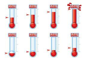 Vector do termômetro
