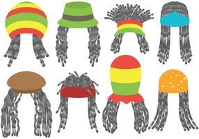 Vetor de ícones de dreads gratuitos