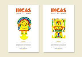 Cartões Incas grátis vetor