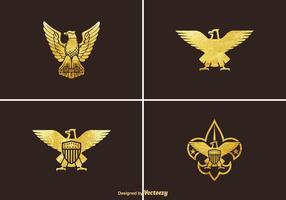 Conjunto de vetores Golden Eagle grátis