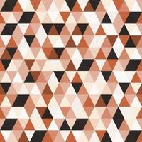 padrão sem emenda de triângulo em mosaico geométrico vetor