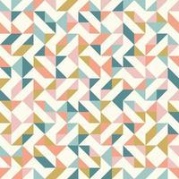 padrão geométrico abstrato de triângulos coloridos vetor