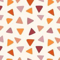 textura perfeita de triângulos coloridos geométricos abstratos