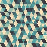 padrão sem emenda de triângulo geométrico abstrato vetor