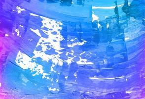 fundo de textura de tinta roxa e azul abstrata raspada vetor