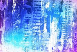 fundo de textura aquarela moderna em azul e roxo vetor