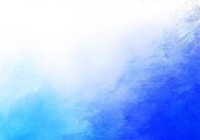 fundo de textura aquarela azul vetor
