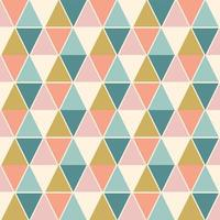 padrão sem emenda argyle arlequim colorido vetor