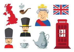 Vetor livre de ícones da Inglaterra
