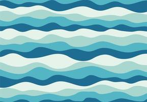 padrão de onda azul vetor