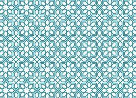 padrão árabe sem costura vetor