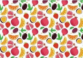 Vetores grátis de padrões de frutas