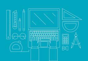 Elementos gratuitos do Office vetor
