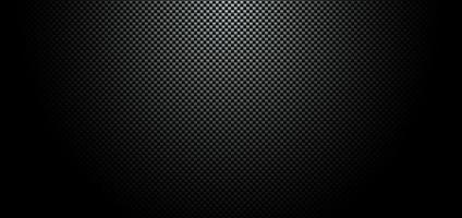 textura de material de fibra de carbono preta vetor