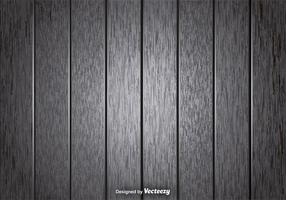 Fundo de pranchas de madeira cinza vetorial