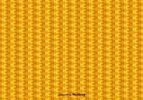 Padrão Vectorial Geométrico dos Incas Amarelos vetor