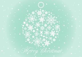 Vector Ilustração do fundo do Natal