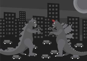 Vetor Godzilla