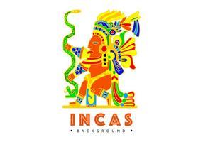 Fundo Incas Grátis vetor