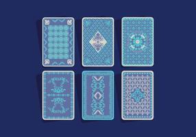 Vetor do cartão de jogo