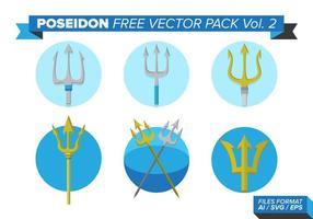 Poseidon pacote vetorial livre vol. 2 vetor