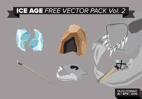 Pacote vetorial livre de idade do gelo vol. 2 vetor