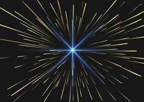 fundo de luzes e fogos de artifício vetor