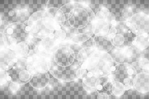 efeito de luz brilhante