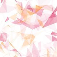 fundo rosa poli baixa vetor