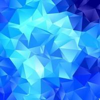 fundo abstrato azul poli baixa vetor