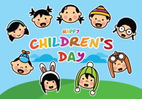 Dia das crianças feliz