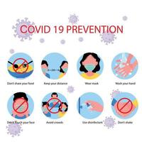 métodos de proteção de coronavírus vetor