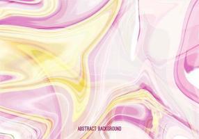 Vetor livre rosa amarelo marmoreado de fundo