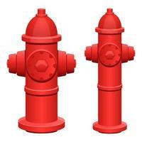 hidrante isolado vetor