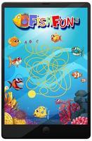 jogo subaquático no tablet vetor