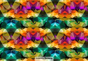Antecedentes poligonais abstratos vetor