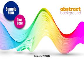 Abstract Colorful Wave - Vector