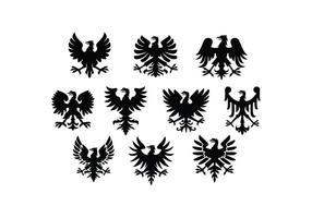 Vector de águia polonês grátis