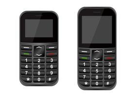 telefones celulares antigos vetor