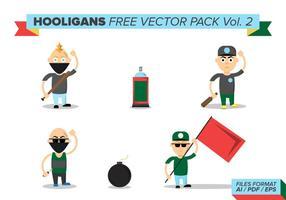 Hooligans pacote vetorial grátis vol. 2 vetor
