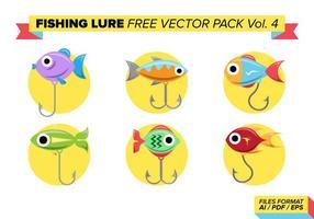 Pacote vetorial livre de iscas de pesca vol. 4 vetor