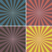 pop art, quadrado, conjunto de plano de fundo padrão